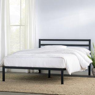 High Headboard Platform Bed | Wayfair