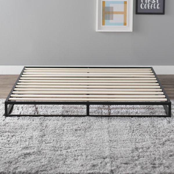Modern & Contemporary Platform Bed Without Headboard | AllModern