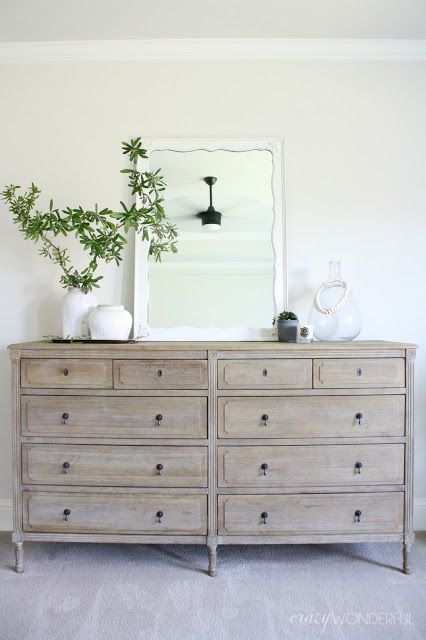 our bedroom dresser | Foxwood Cove | Bedroom dressers, Home bedroom