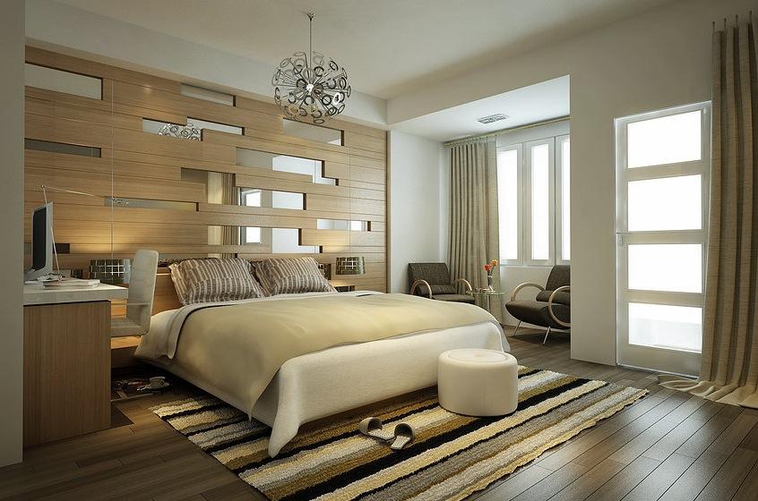 linear bedroom interior design | Interior Design Ideas.
