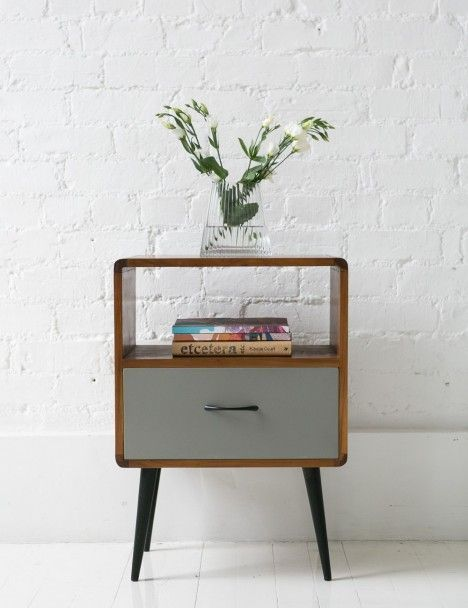 Davis Side Table mid century. Modern twist.~table options for lounge