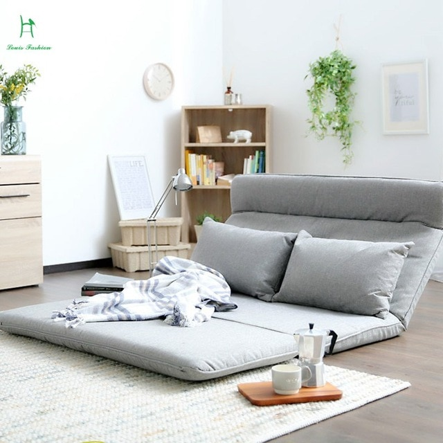 Louis Fashion New Japanese Style Tatami Folding Sofa Bed Cloth