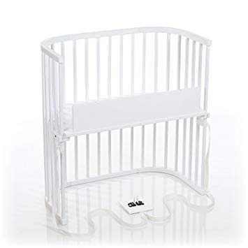 Amazon.com : babybay Bedside Sleeper (Pure White Finish) : Baby