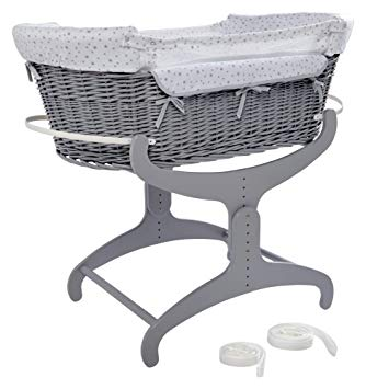 Amazon.com : New Clair de Lune Bedside Crib : Baby