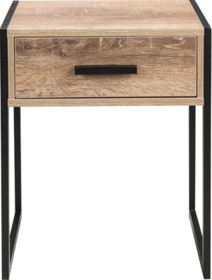Irving Bedside Table - Black   Furniture   George