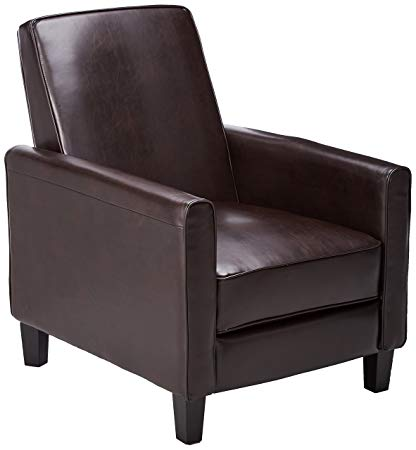 Amazon.com: Best Selling Leather Recliner Club Chair: Kitchen & Dining