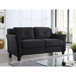 Buy Black, Modern & Contemporary Loveseats Online at Overstock | Our