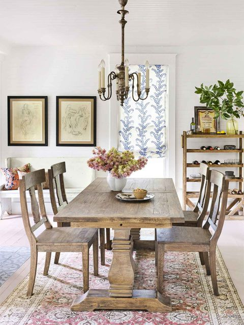 85 Best Dining Room Decorating Ideas Country Decor - Salongallery