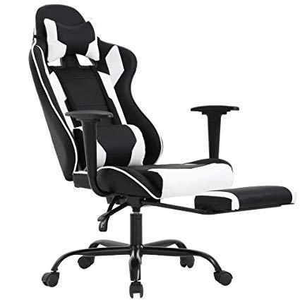Amazon.com: Racing Gaming Chair Desk Computer Ergonomic Swivel