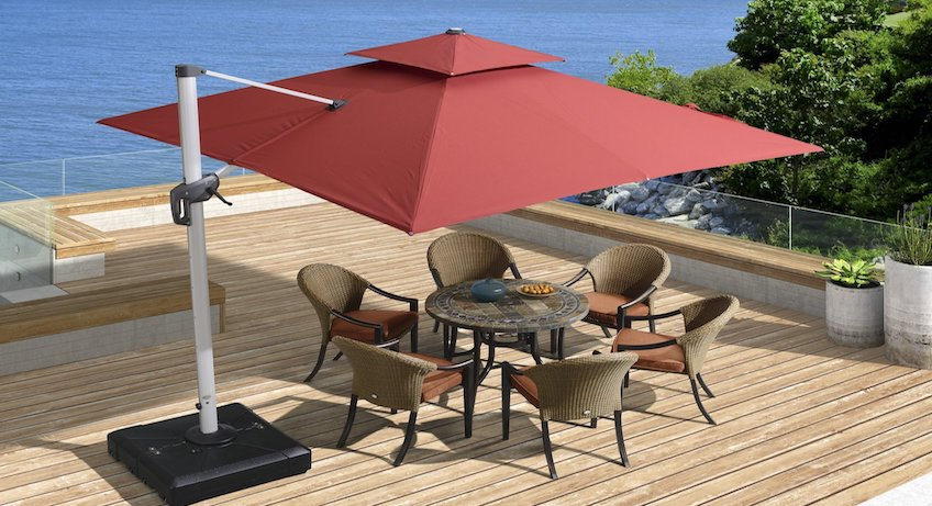 Best Cantilever Umbrella Reviews. Top Tips for Buying Patio