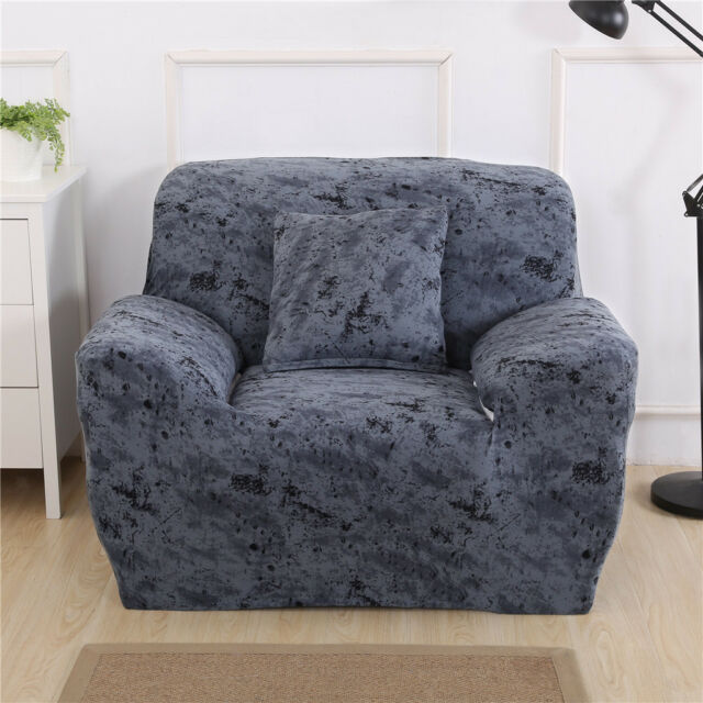 Buy Comfortable Stretch Sofa Armchair Cover Settee Couch Protector
