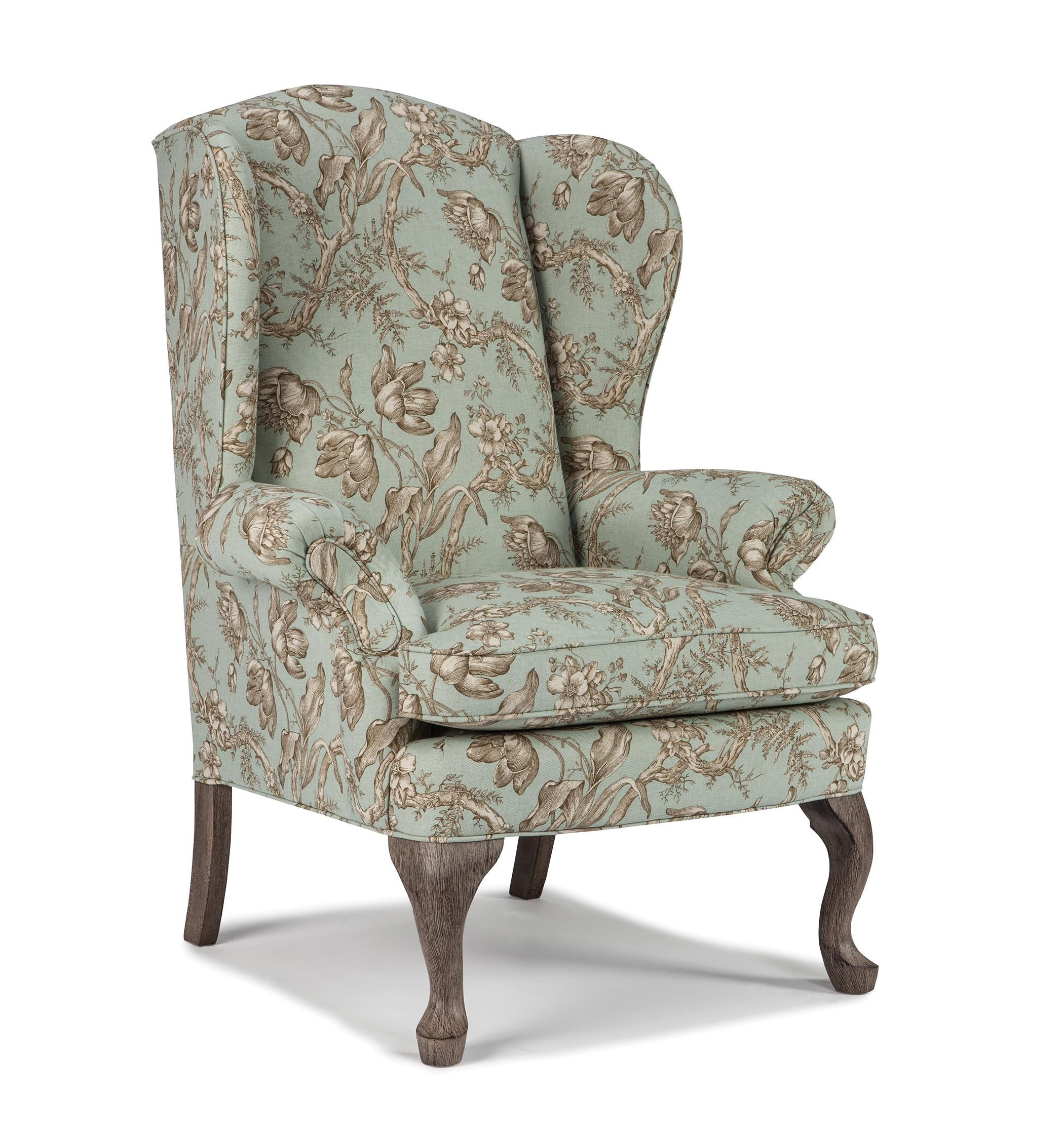 Best Home Furnishings Wing Chairs Sylvia Wing Back Chair | Bullard