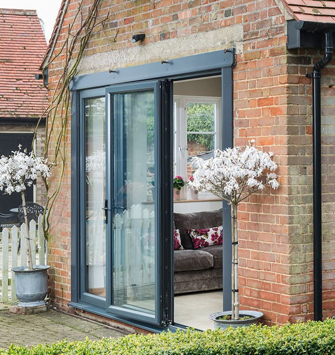 Install some amazing bi folding doors at   your house or office