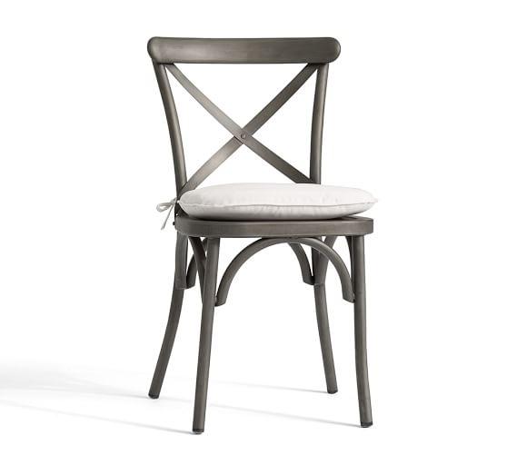 Sunbrella® Bistro Chair & Barstool Cushion | Pottery Barn