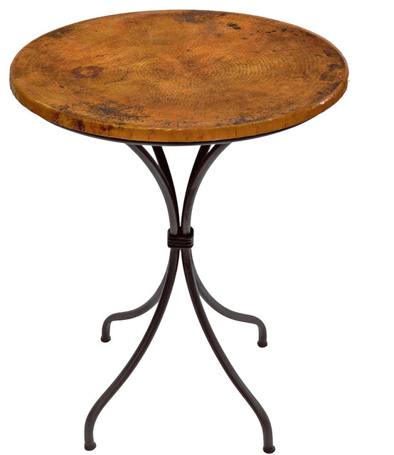 Italia Round Counter Table - Indoor Pub And Bistro Tables - by