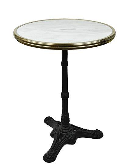 Amazon.com: Bonnecaze Absinthe & Home French Bistro Table, White