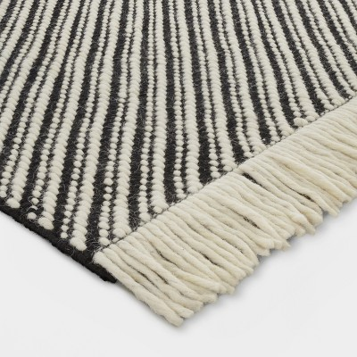 Black/White Chevron Woven Area Rug - Project 62™ : Target