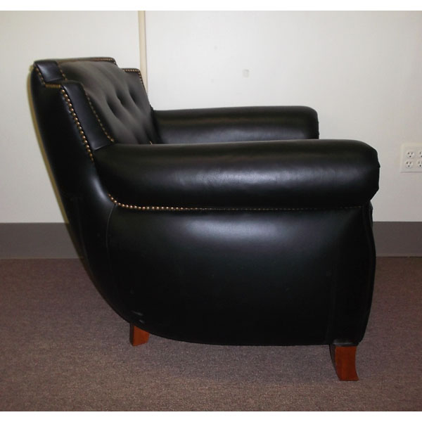Black Leather Sofas & Chairs
