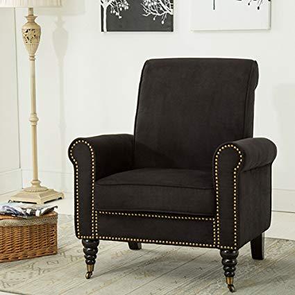 Amazon.com: Classic Living Room Chairs Nailhead Trim Club Chairs
