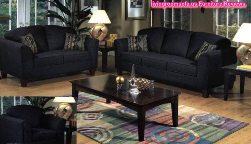 Black Living Room Furniture - Mesavirre.com