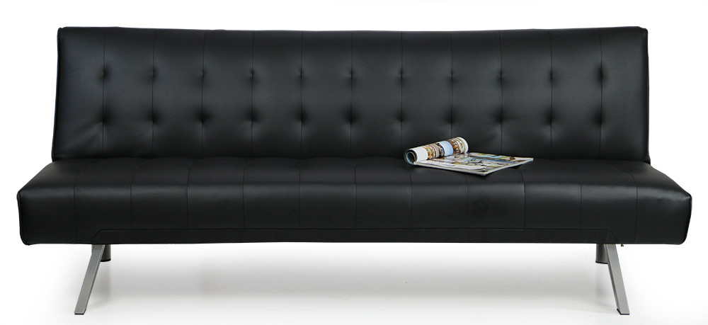 Andrea Sofa Bed Black | Furniture & Home Décor | FortyTwo
