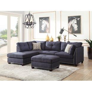 Aqua Blue Sectional Sofa | Wayfair