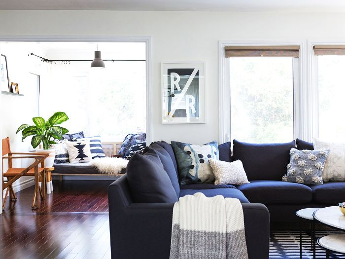 Behold the 12 Navy Blue Couches We All Secretly Need   MyDomaine
