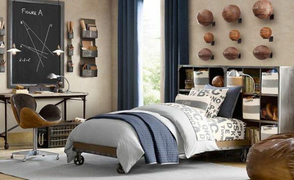 Traditional boys room décor ideas