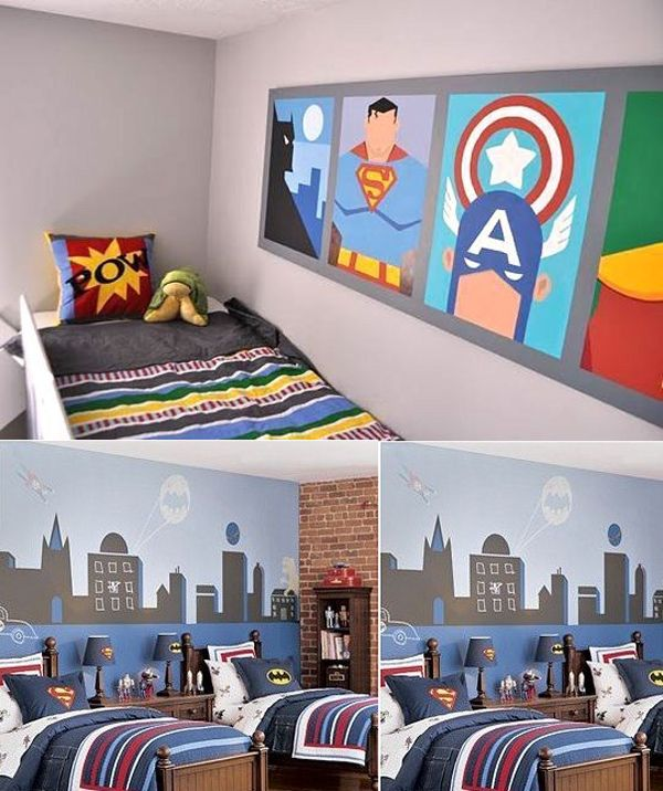 Get the best ideas to attain the perfect   boys' room décor