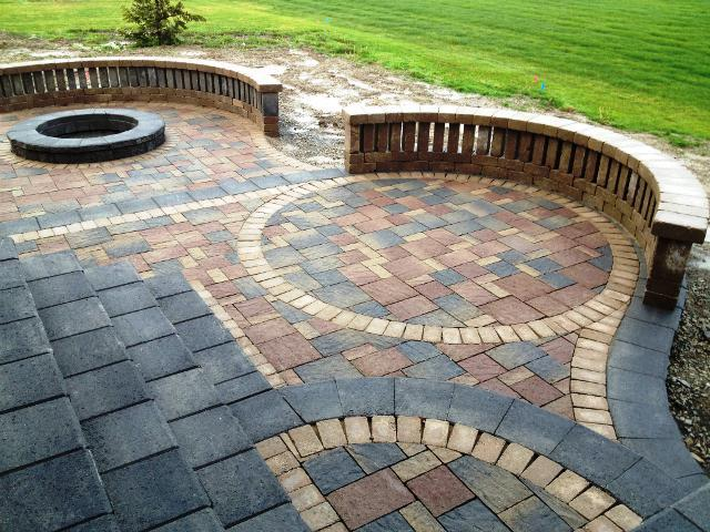 Circular Brick Patio Designs u2014 Ardusat HomesArdusat Homes