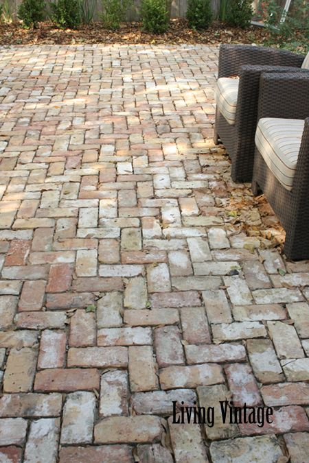 Easy DIY Patio Ideas | Patio | Brick patios, Patio flooring, Diy patio