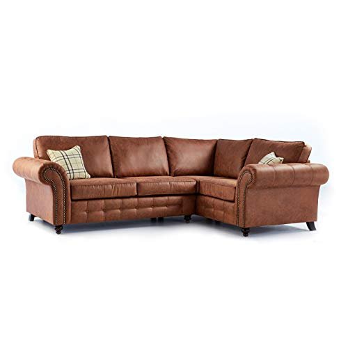 Leather Corner Sofa Bed: Amazon.co.uk