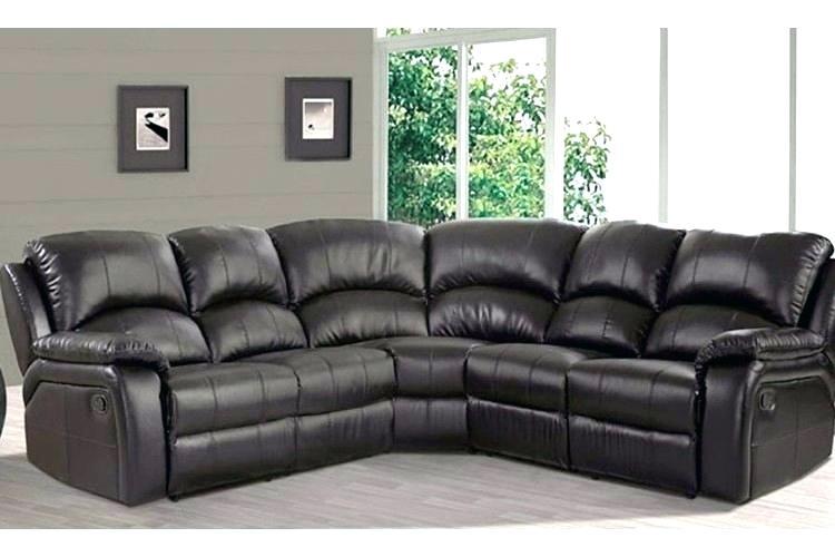 Corner Leather Recliner Sofa Set Leather Corner Sofa Recliner Brown