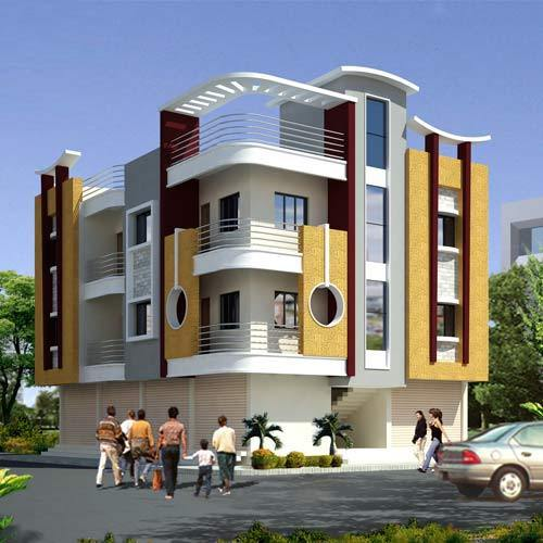 Commercial Complex Building Designing Services in Tolichowki