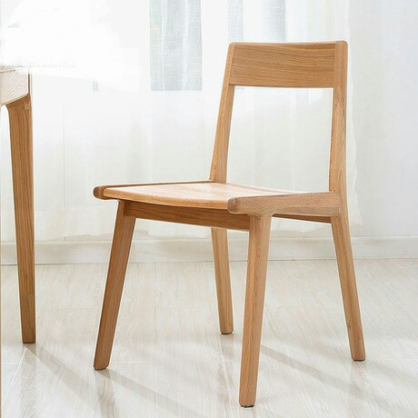 Cafe Chairs Cafe Furniture Oak solid wood coffee chair dining chair