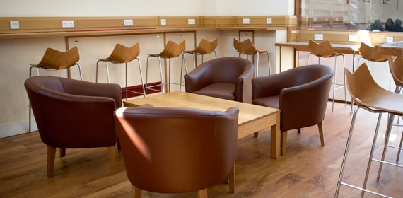 Create an elegant appearance with the   cafe furniture