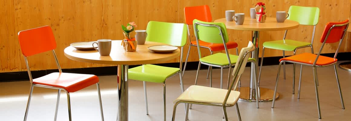 Versatile and contemporary cafe furniture - Mogo Direct