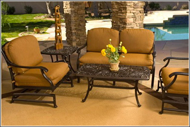 5 Reasons to Choose Cast Aluminum Outdoor Furniture - Palm Casual