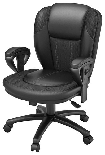 Z-Line Designs Leather Office Chair Black ZL3006-01MCU - Best Buy