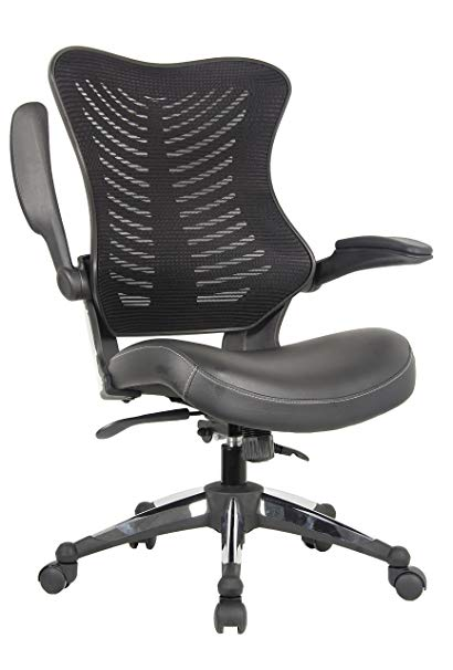 Amazon.com: OFFICE FACTOR Executive Ergonomic Office Chair Back Mesh