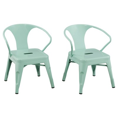 Metal Kids Chair (Set Of 2) - Reservation Seating : Target