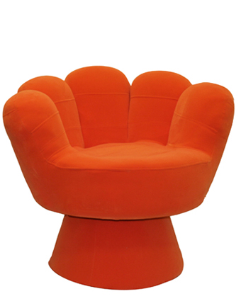 Big Kids Mitt Chair u2013 Orange | Cool Kids Chairs