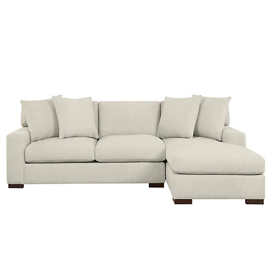 Del Mar Sectional Sofa & Chaise | Z Gallerie