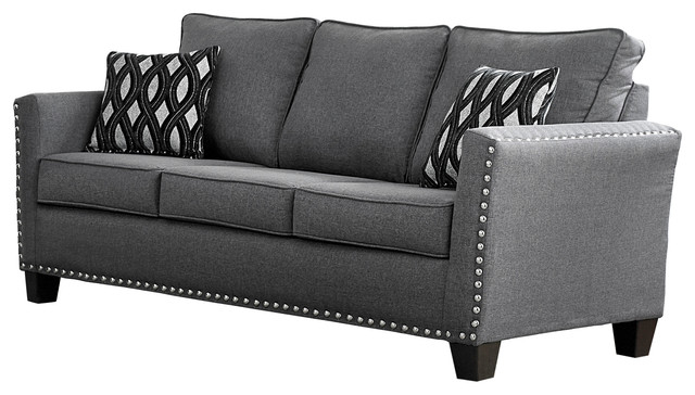 Carolina Chenille Sofa - Traditional - Sofas - by Furniture World