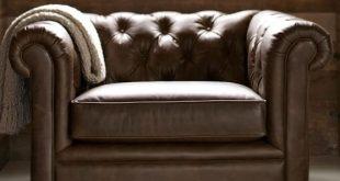 Chesterfield Leather Armchair | Pottery Barn
