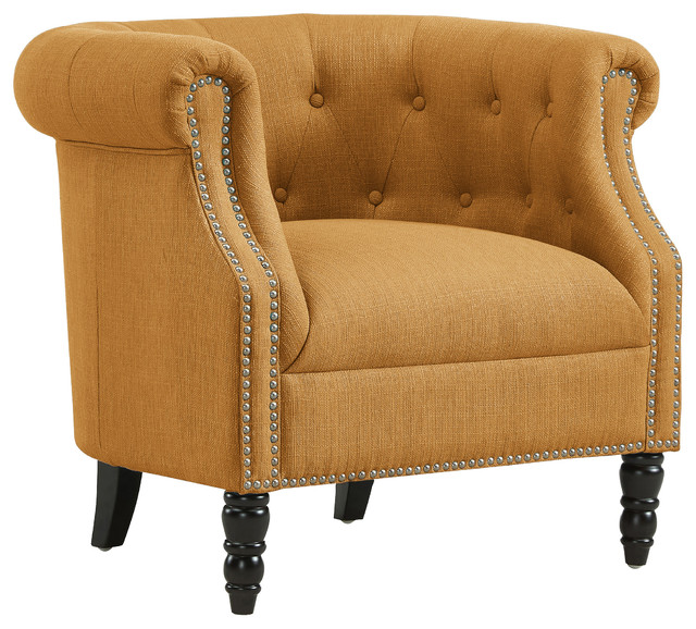 Chesterfield Chair - Traditional - Armchairs And Accent Chairs - by