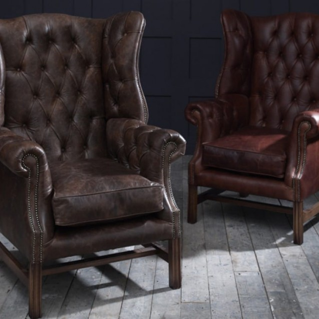The Chesterfield Co™: Leather Chesterfield Sofas, Armchairs & More