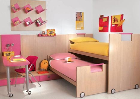 Furnishing your children's bedroom by use of childrens bedroom