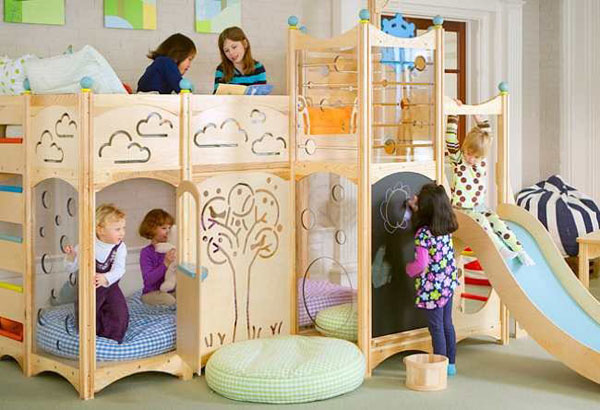 A Miniature World of Fantasy and Games: Rhapsody Children's Beds