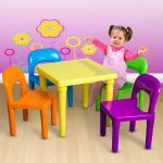 Attractive Childrens Table and Chairs